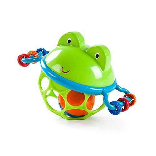 Oball Greifball mit Glockenball, Greifring und Schiebekugeln im flexiblen, leicht greifbaren Design