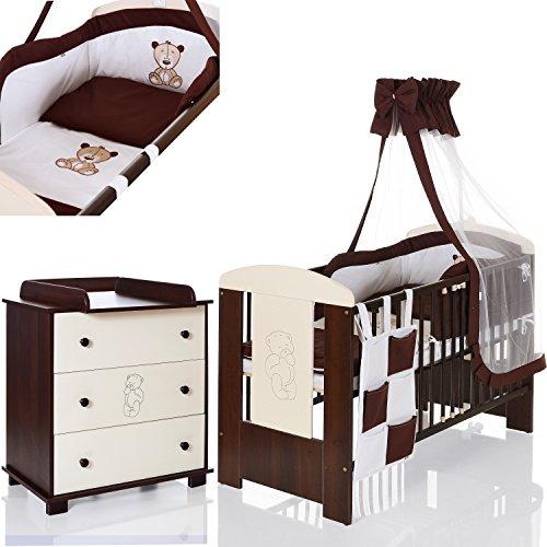 Bär braun Babyzimmer Möbelset
