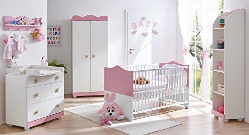 TICAA Babyzimmer'Prinzessin' 5-teilig Rosa